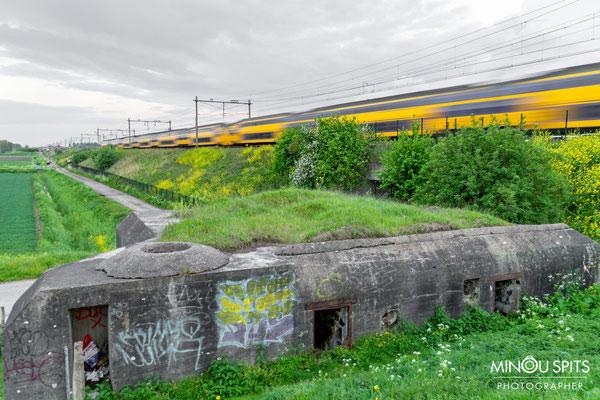 Bunker inclusief trein
