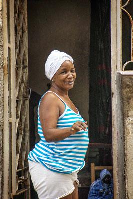 Vrouw centro Havana fotografiereis Cuba
