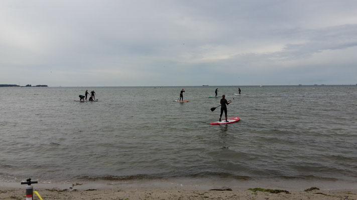 Kiteschule Kitesurfen Kiel SUP Verleih