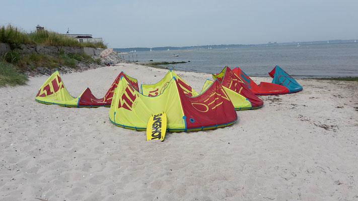 Kiteschule Kitesurfen Kiel