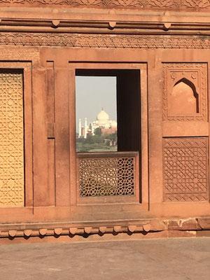 Aussicht vm Agra Fort