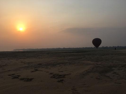Aussicht vom Ballon