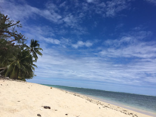 Strand auf Rarotonga