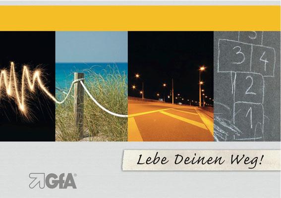 Produktion der Imagebroschüre für die GfA, Gesellschaft für Arbeitsmethodik (GfA)