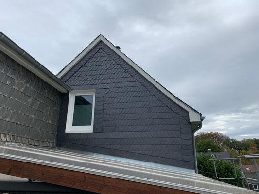 Ein Dach auf dem Dach