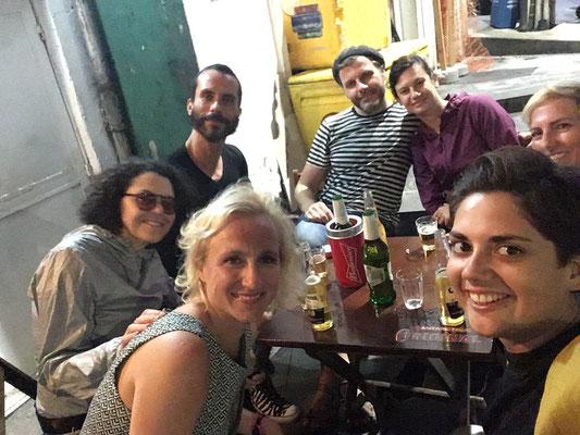 ...der letzte gemeinsame Abend, in Salvador