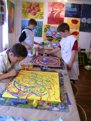 Karola Fels, Malschule, Köln, Kinder