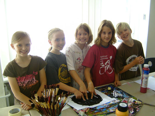 Karola Fels, Künstlerin, Kinder, Malkurs, Köln, Lindenthal