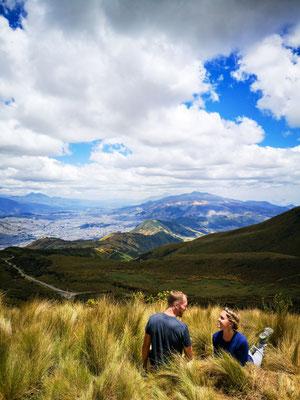 Follow Elli Reisebericht Weltreise Erfahrung Ecuador - Quito
