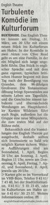 Buxtehuder Tageblatt, 25.03.2017