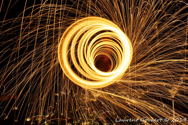 light painting Laurent Govaert