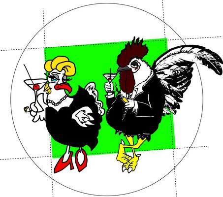 Logo Design für Ladies' Circle 44 Jever Event 2019 (Ehrenamt)
