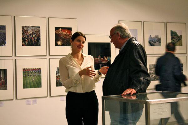 Alina Heinze (Museumsleitung), Thomas Billhardt