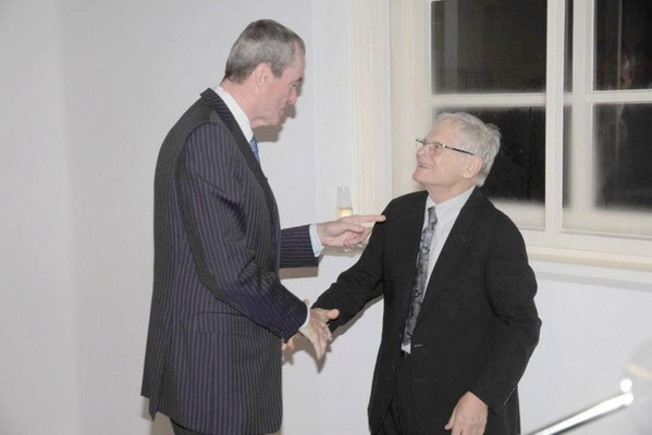 US Ambassador Philip Murphy, Steve Schapiro