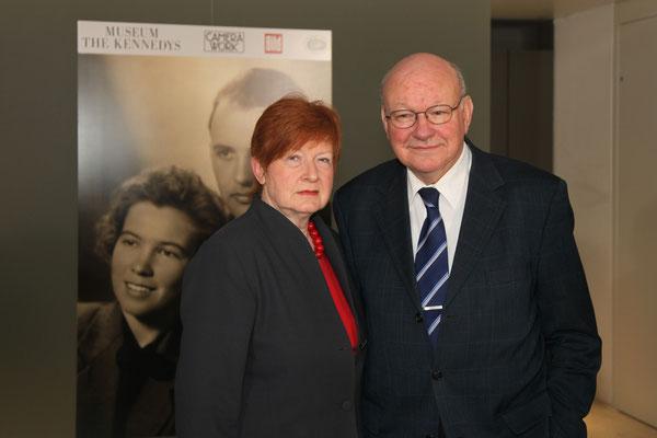 Anna und Walter Momper (1989–1991 Regierender Bürgermeister von Berlin)