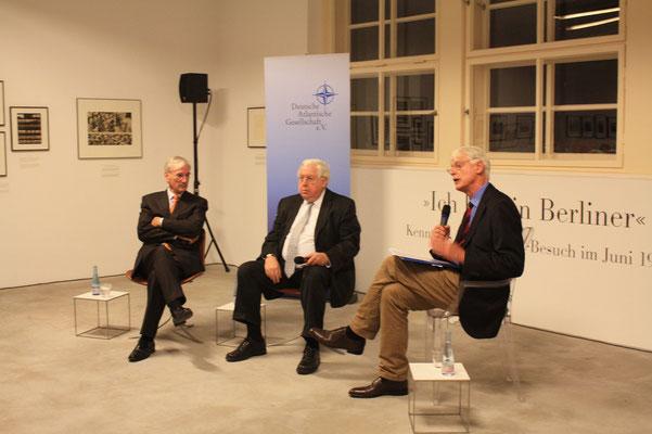 Jürgen Chrobog, John Kornblum, Werner Sonne