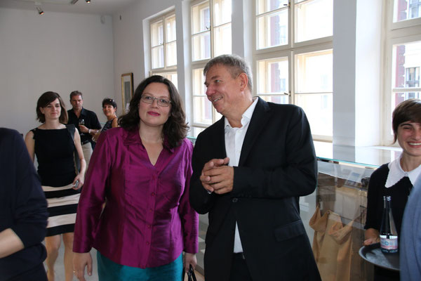 Arbeits- und Sozialministerin Andrea Nahles, Daniel Biskup
