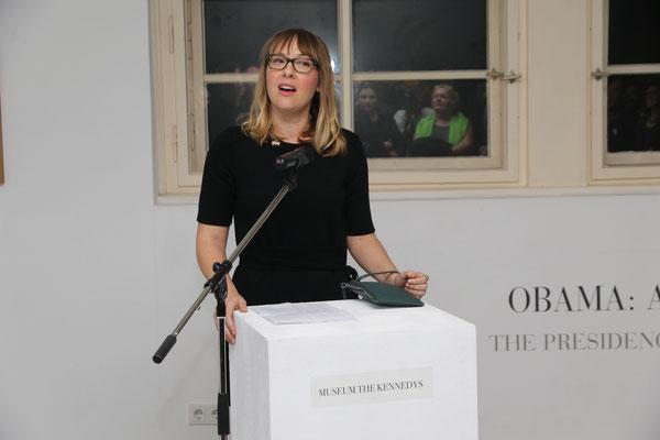 Eröffnungsrede durch Tanya Brothen (US-Botschaft Berlin)