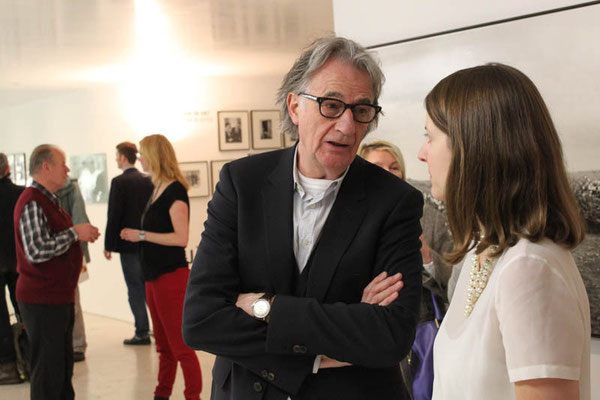 Sir Paul Smith, Alina Heinze (Museumsleitung)
