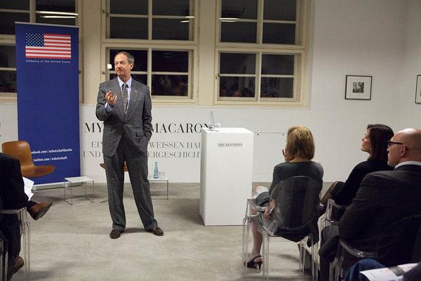 US-Botschafter John B. Emerson  © John Self, U.S. Embassy Berlin