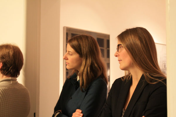 Alina Heinze (Director of the Museum THE KENNEDYS), Janika Bratvogel (DAG)