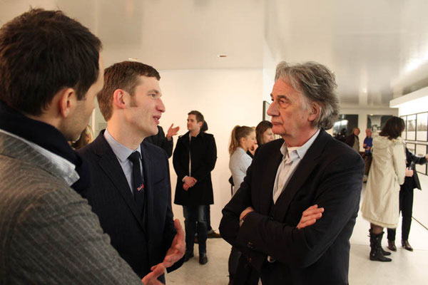 Peter Bofinger (Assistent Director of the Museum THE KENNEDYS), Sir Paul Smith
