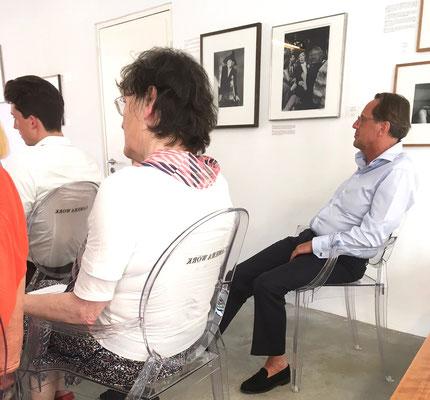 Transatlantische Gespräche im Museum THE KENNEDYS