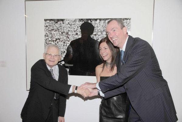 Steve Schapiro, Tammy Murphy, US Ambassador Philip Murphy