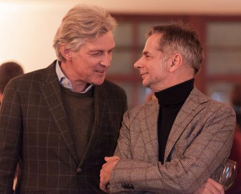 Martin Hoffmann (Intendant der Berliner Philharmoniker), rechts
