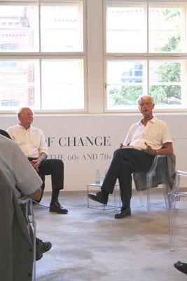 Ambassador a. D. Dr. Klaus Scharioth und Werner Sonner (Moderation)