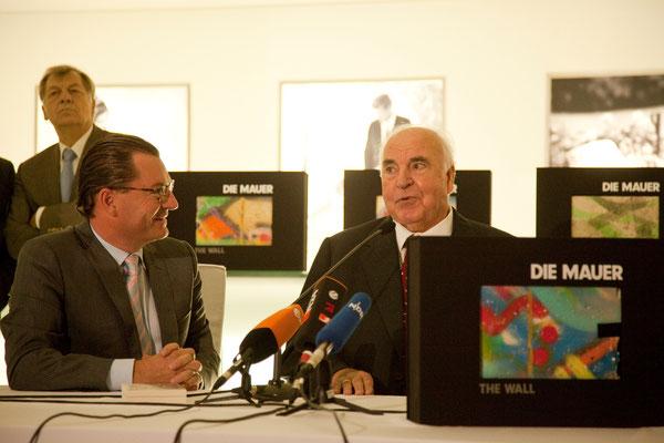 Kai Diekmann, Bundeskanzler a. D. Dr. Helmut Kohl (von 1982–1998 der sechste Bundeskanzler der Bundesrepublik Deutschland)