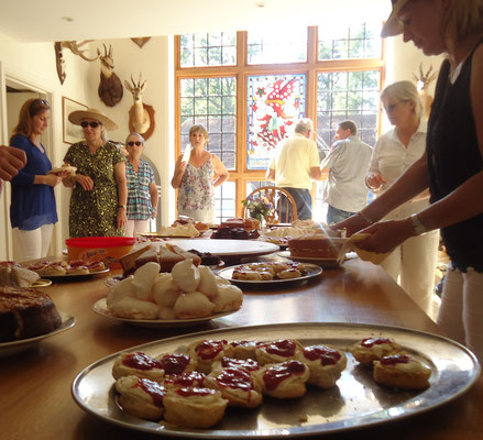 A wonderful spread