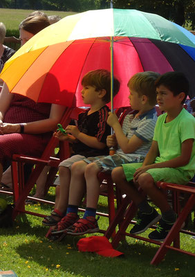 Keeping the sun off