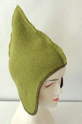 Zwergenmütze in grün