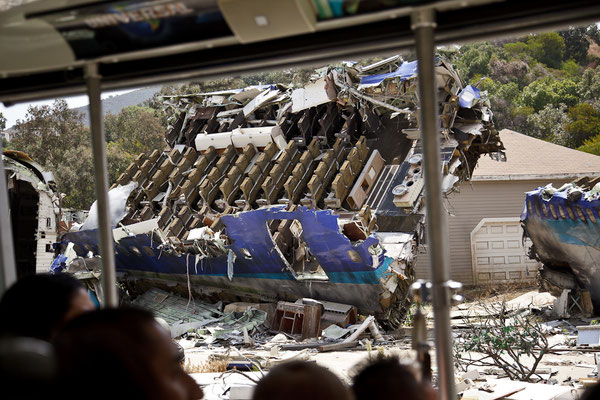 Universal Studios - Crash Scene from War of the Worlds