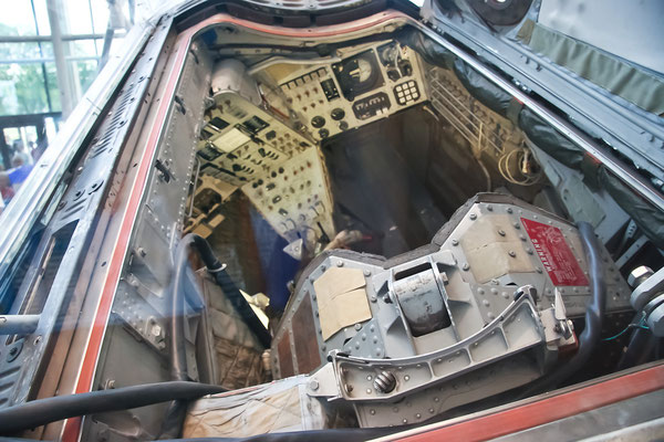 Washington DC - Smithonian - the Real Gemini IV Capsule