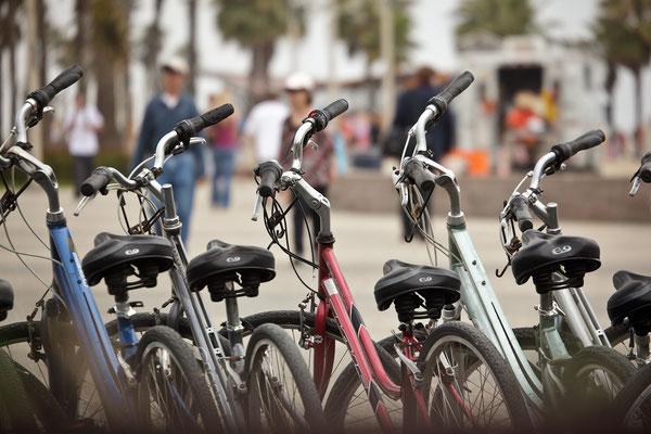Bikes on the Beach