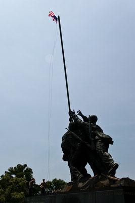 Washington DC - Arlington Cimetery - Iwo Jima Memorial