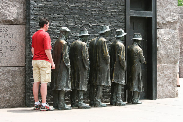 Washington DC - Roosevelt Memorial