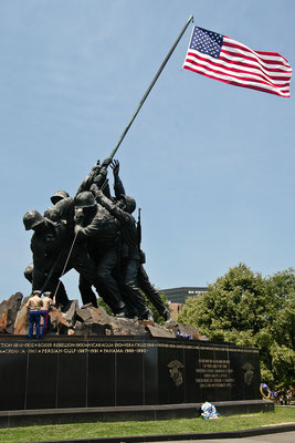 Washington DC - Arlington Cimetery - Iwo Jima Memorial