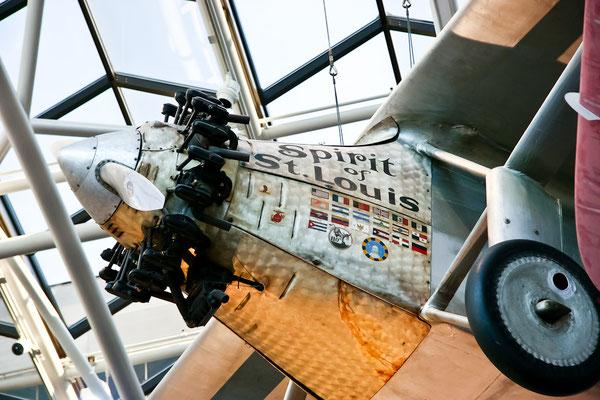 Washington DC - Smithonian - Original Plane of Charles Lindberg
