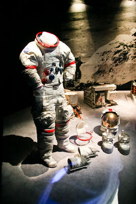 Washington DC - Smithonian - Real Space Suit