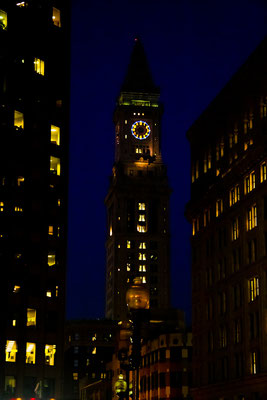 Boston - By Night