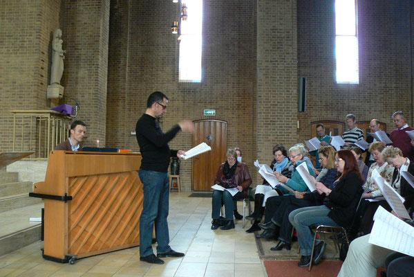 Ecclesiakoor De Bilt/Bilthoven - Lieddag met koor Cantilene maart 2012