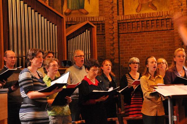 Ecclesiakoor De Bilt/Bilthoven - vormselviering april 2012 O.L.V. kerk