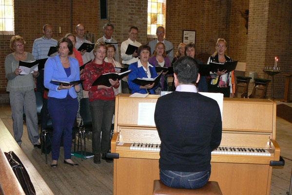 Ecclesiakoor De Bilt/Bilthoven - Viering juni 2012 Michaëlkerk
