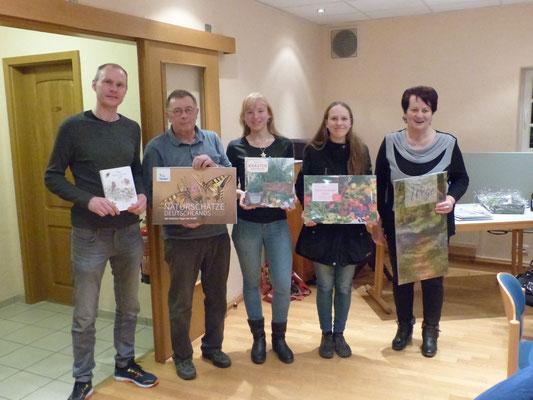 Die 5 Gewinner des traditionellen Naturquiz