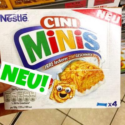 Nestle Cini Minis Riegel