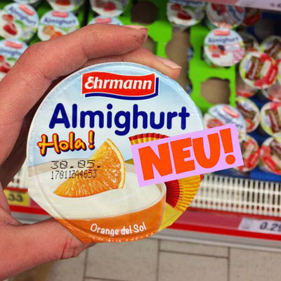 Ehrmann Almighurt Hola Orange del Sol