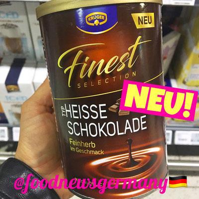 KRÜGER Heisse Schokolade feinherb